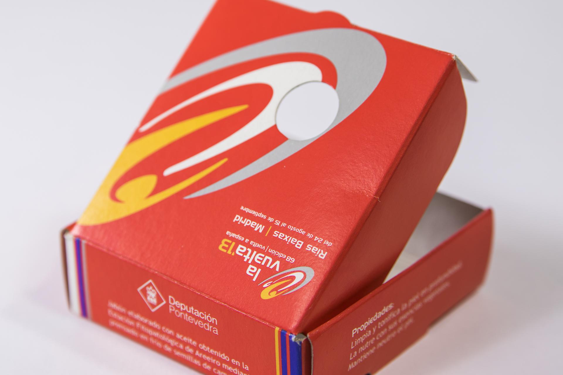packaging para productos con impresión corporativa