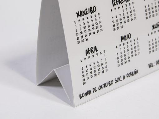 Calendario mesa
