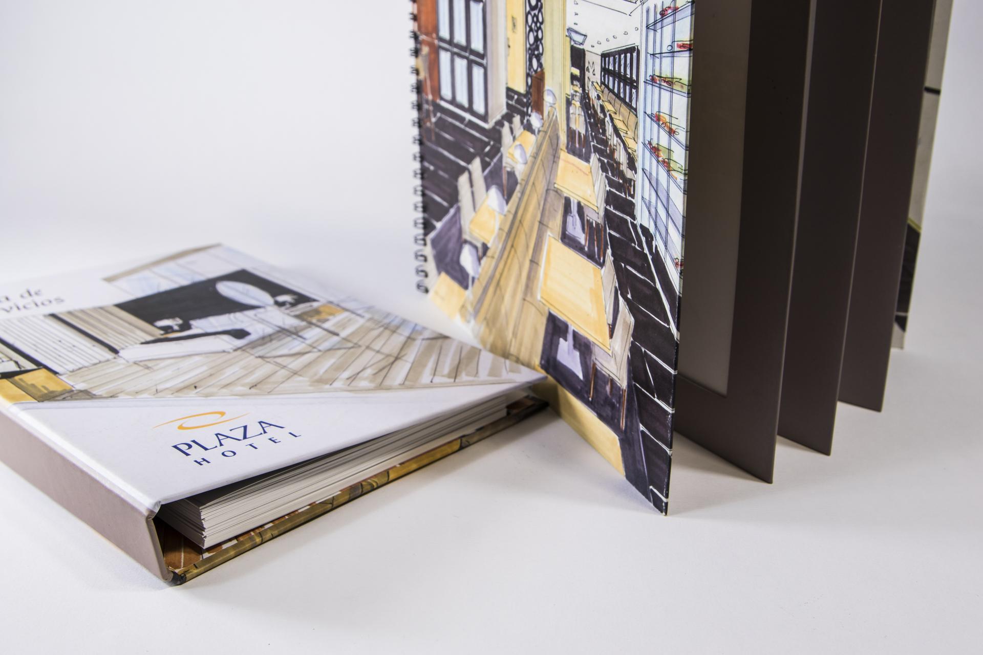 Impresión digital sobre cartulina estucada en VentoPrint a Coruña